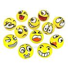 12Pcs/Lot Emoji Face Squeeze Balls Stress Relax Emotional Toy Balls Wholesale