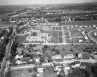 1954 Humphrey Gardens Utica New York Upstate NY 8x10 to 16x20 Aerial Photo BG53