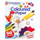 New The Entertainer Coloured Paper Pack Craft Supplies Set