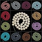 Hd1081-1093 10mm Wholesale Glass Pearl Ball Loose beads 15""