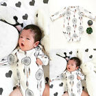 Infant Newborn Baby Boys Girl Romper Jumpsuit Bodysuit Clothes Campanula Outfits