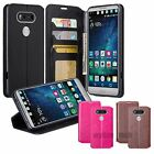 For LG V20 Wallet Case PU Leather Phone Cover Card Slot Stand