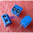 10/20/50/100KF301-2P 2 Pin Plug-in Screw Terminal Block Connector5.08mm Pitch J2