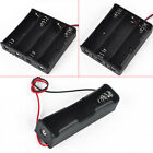 Plastic Battery Holder Storage Box Case for 18650 14.8/11.1/3.7V With Wire Lead