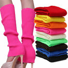 Внешний вид - Women Winter Warm Crochet Knit High Knee Leg Warmers Leggings Boot Socks Slouch
