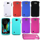 For LG Rebel 4G LTE Rubberized HARD Protector Case Phone Cover + Screen Guard