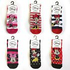 MINNIE MOUSE OFFICIAL DISNEY KIDS GIRLS LADIES WARM ANKLE SOCKS SIZE 4-8 (37-42)