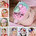 Girl Baby Headband Toddler Lace Bow Flower Hair Band Accessories Headwear New