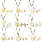 Fashion Women Wedding Bridesmaid Jewelry Set Earrings Prom Necklace Lots Charms