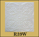 Faux CEILING TILES R39 STYROFOAM 20x20 TIN LOOK DIFFERENT COLORS