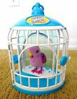 Little Live Pets Beauty Bella BIRD parrot toy CAGE talk/repeat sing interactive