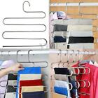 5 Layers Pants Hanger Trousers Towels Hanging Clothes Clothing Rack Space Saver