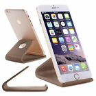 Universal Wood Desk Table Stand Holder Cradle For iPhone Samsung Table PC