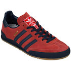 Mens adidas Originals Jeans Mkii Trainers In Red From Get The Label