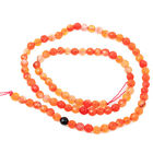 1/5string NEW Colorful Gemstone Agate Loose Bead 4mm Spacer Charms Fit Jewelry D