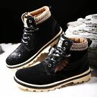 Men's Winter Martin Snow Boots Suede Sneakers Casual Thicken Cotton Warm Shoes#