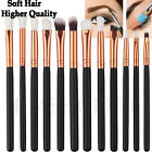 12pcs Makeup Brushes Set Eyeshadow Eyebrow Eyeliner Professional Lip Brush