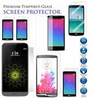 Genuine Tempered Glass Screen Protector Case For LG G3, G5, LEON, SPIRIT, K8, 5X