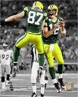 Aaron Rodgers Jordy Nelson Green Bay Packers NFL Spotlight Photo (Select Size)