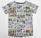 Boys DC Comics T Shirt Comic Book Strip Print Kids T Shirts  Cotton Top 3-12 yrs