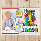 Personalised Happy First 1st Birthday Poster Banner Print N106 ANY AGE 2nd 3rd