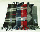 STAFFORD Mens Fringe SCARVES CHOOSE STYLE