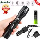 Rechargeable 5000LM XM-L T6 LED Flashlight Tactical Torch Lamp + Battery+Charger