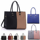LeahWard Large Women's Tote Bags Shoulder Handbags Work School Bag College A4