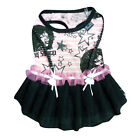 Dog Dress - Tinkerbell - Little Barkers - Stripes & Stars Lace Trim - Any Size