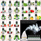 5ml/10ml Pure Essential Oils Aromatherapy Therapeutic 118 Natural Scents