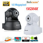 2X 4X 720P HD Wireless Wifi Network CCTV Security Night Vision IP Camera Webcam