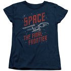 Star Trek The Original Sci-Fi TV Series Space The Final Frontier Women's T-Shirt on eBay