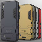 For LG X Power Case Hard Kickstand Protective Armor Cover