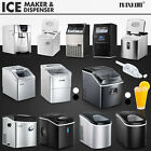 Commercial Ice Maker Portable Cube Machine Auto Snow Home Business