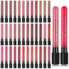 Lipstick Waterproof Liquid Pencil Matte Lip Gloss Long Lasting Makeup 38 Colors