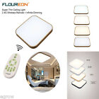 64W LED Ceiling Down Light Panel Home Wall Lamp Wireless Remote Control Dimmable