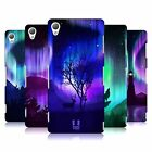 HEAD CASE DESIGNS NORTHERN LIGHTS HARD BACK CASE FOR SONY PHONES 1