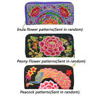 Lady Women Bag Handbag Purse National Retro Embroidered Manual Purse Coin Holder