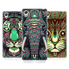 HEAD CASE DESIGNS AZTEC ANIMAL FACES 2 SOFT GEL CASE FOR SONY XPERIA X
