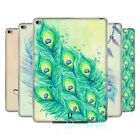 HEAD CASE DESIGNS PEACOCK FEATHERS SOFT GEL CASE FOR APPLE iPAD AIR 2