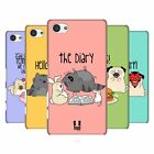 HEAD CASE DESIGNS WILBUR BAND HARD BACK CASE FOR SONY XPERIA Z5 COMPACT