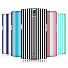HEAD CASE DESIGNS VERTICAL STRIPES HARD BACK CASE FOR ONEPLUS ONE