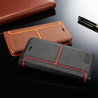 Luxury Magnetic Flip Cover Stand Card Slot Wallet Leather Case For iPhone Models
