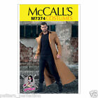 McCall's 7374 Sewing Pattern to MAKE Yaya Han Collared & Seamed Coat Cosplay