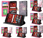 Leather Wallet Diary Case Flip Stand Rhinestone ID Cover for ZTE GRAND X 4 Z956