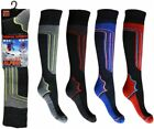 SKI MENS LONG WARM OUTDOOR HIKE SNOWBOARD WINTER THERMAL PADDED SOCKS SIZE 6-11