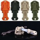 Mini Multifunction EDC Self Defense Survival Tool Knife Pocket Molle Webbing New
