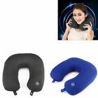 U Shaped Travel Office Sleep Pillow Neck Massage Support Head Rest Cushion Gift