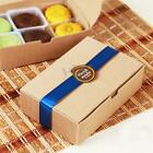 5-50pcs Kraft Paper Cake Cupcake Box Cookie Candy Packaging Wedding Party Favour