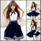 Japanese Girl Japan School Uniform Dress Sailor Cosplay Costume Anime Hot !Style